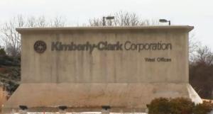 Kimberly+Clark+sign